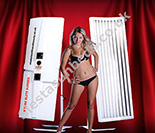 Elite Single Canopy Sunbed for Sale